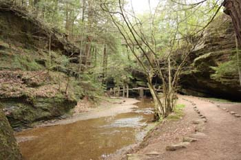 Old Man's Cave Trail - Hocking Hills State Park