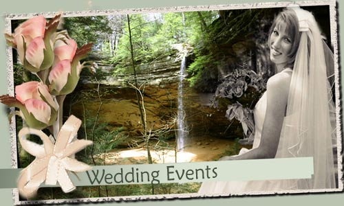 Wedding Lodge Facilities in the Hocking Hills
